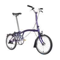 Brompton M3L Purple Metallic